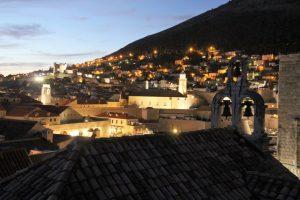 Beautiful Dubrovnik at Night Dubrovnik City Walls