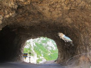 Tunnel in Durmitor