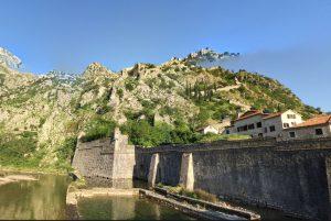 Kotor city wall