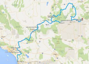 Parks of the West Motorcycle Tour