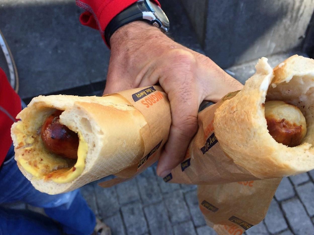 Sausage Baguette in Bern