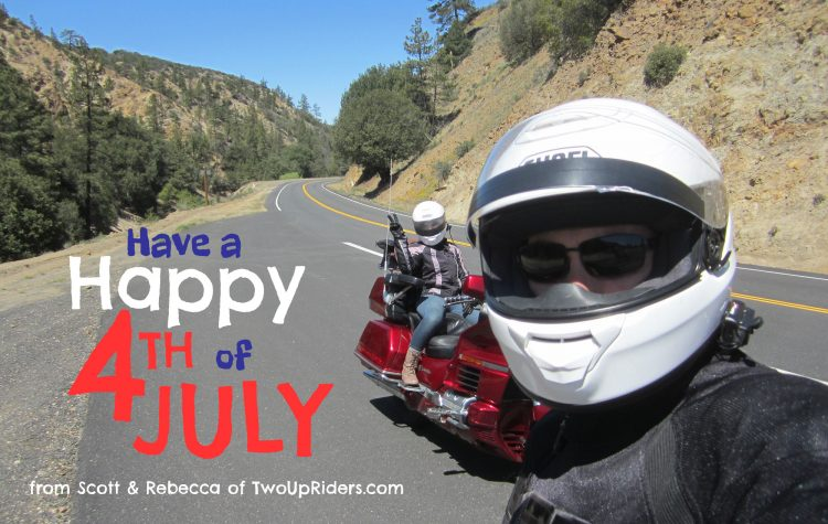 Happy 4th of July from TwoUpRiders