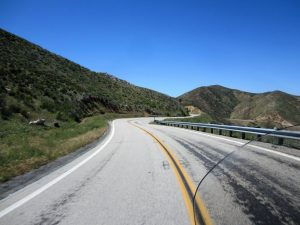 Awesome twisty road heading to Idyllwild