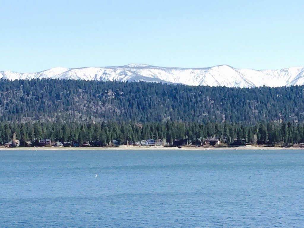 Big Bear Lake and San Gorgonio