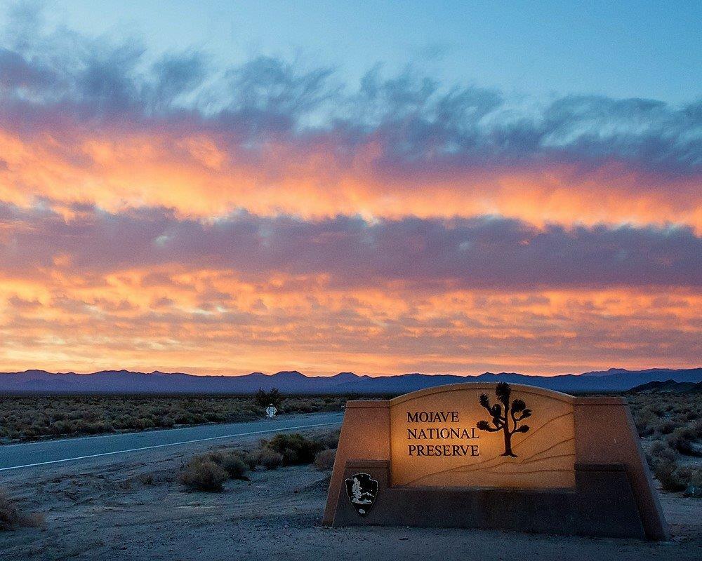 Mojave Preserve Sign
