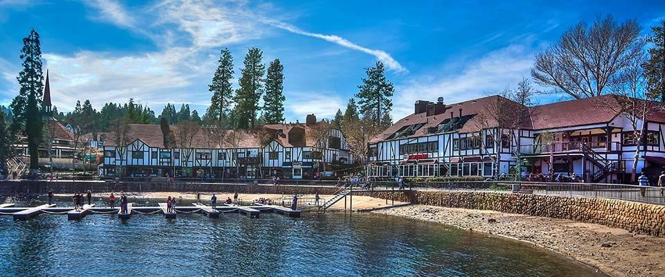 Lake Arrowhead shorline