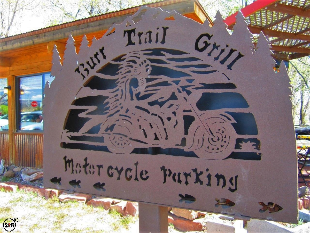 Burr Trail Grill on Route 12