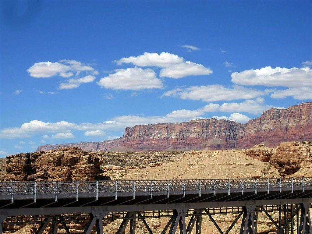 The Vermillion Cliffs from Navajo Bridge