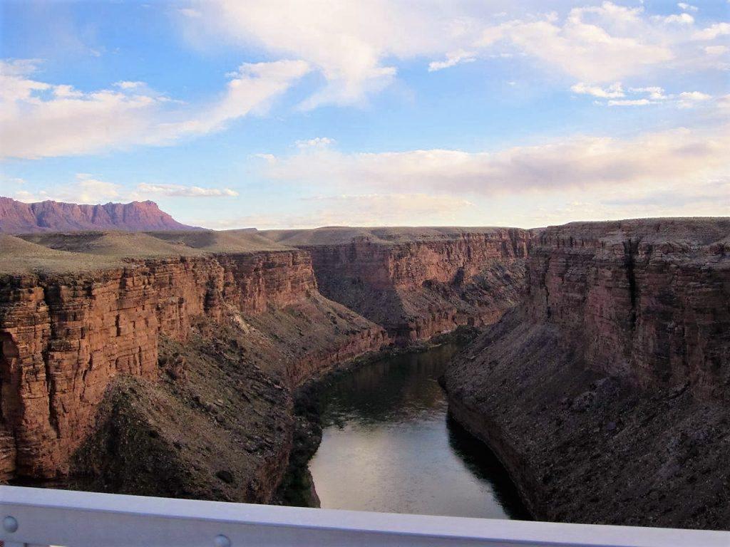 The mighty Colorado River from Navajo Bridge