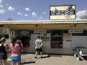 Nemo's is a great place for soft serve ice cream right on UT 12 in Escalante.