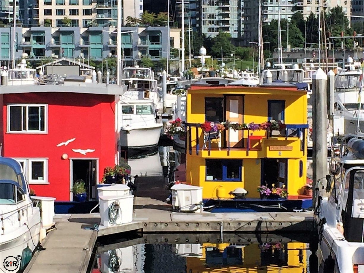 Boat house in Vancouver BC