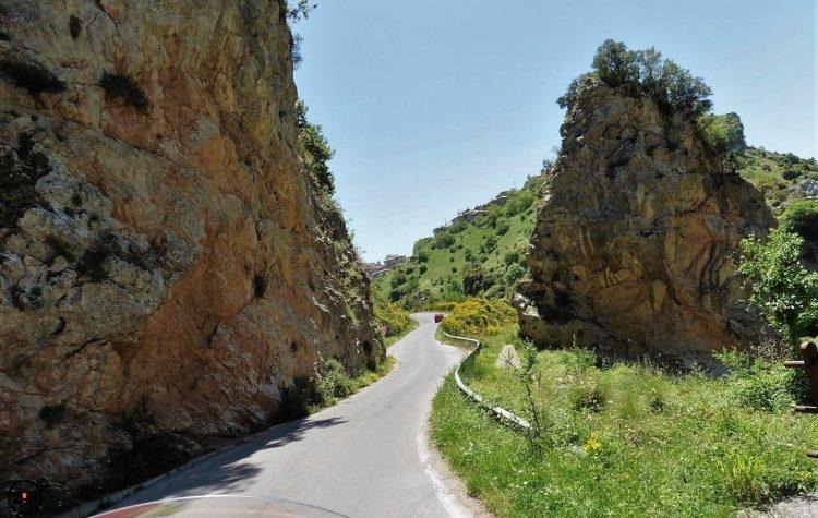 Road Peloponnese Peninsula