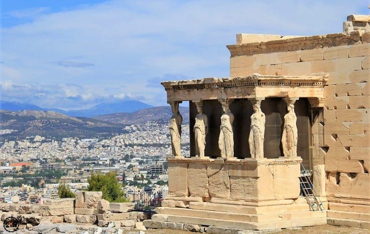 Athens and Temple of Athena
